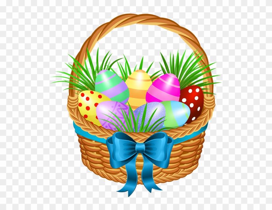 Easter Basket Clip Art Png Image.