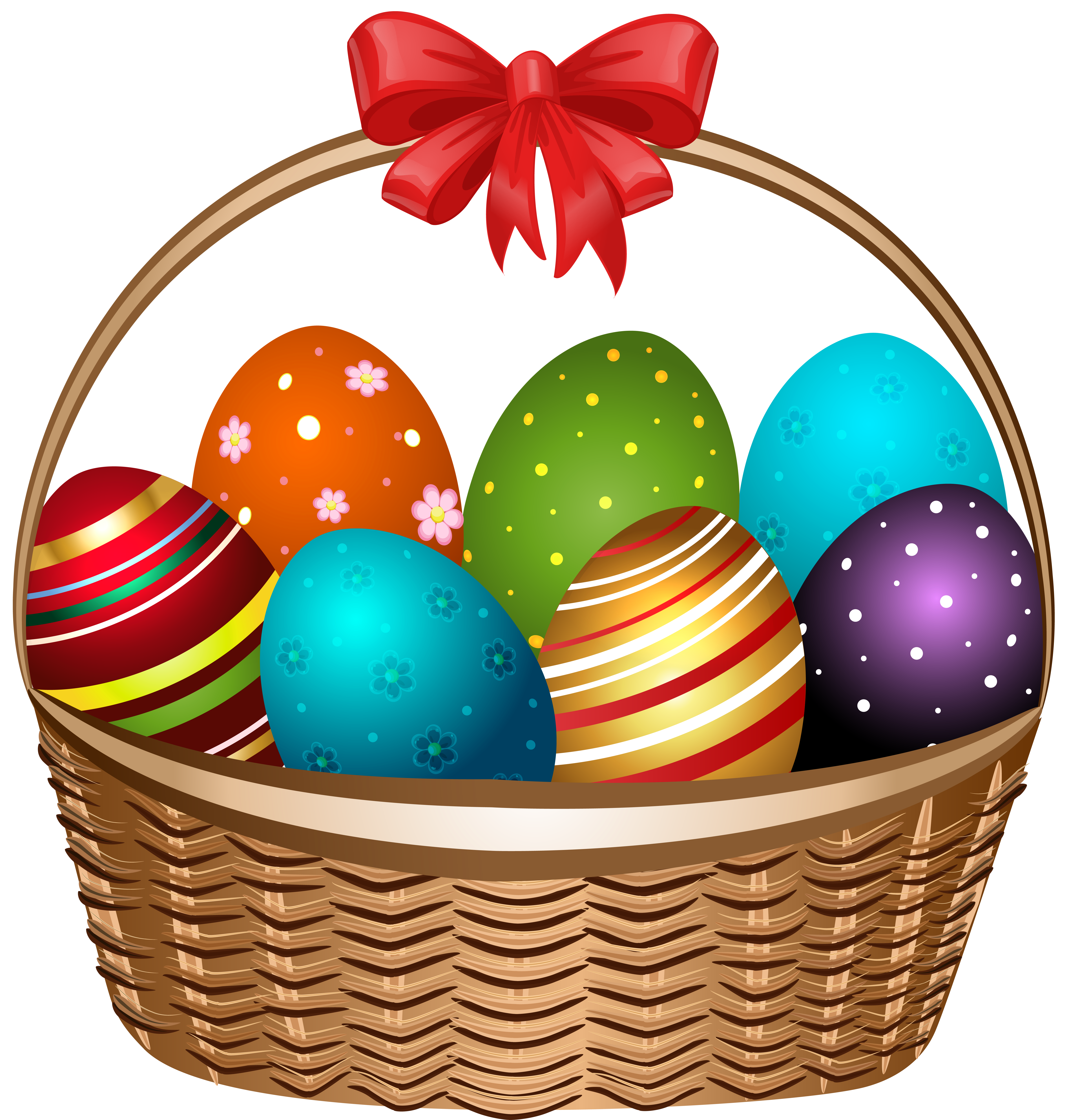 Easter Basket Clip Art Free.