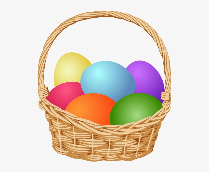 Png Transparent Easter Basket Clipart Free.