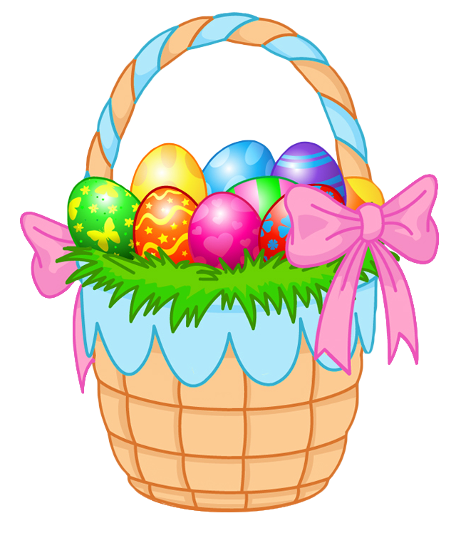 Easter Basket Clipart Free.