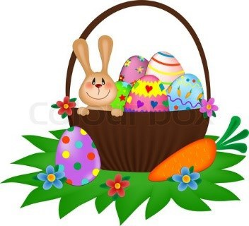 Easter Basket Clipart — Somers Public Library.