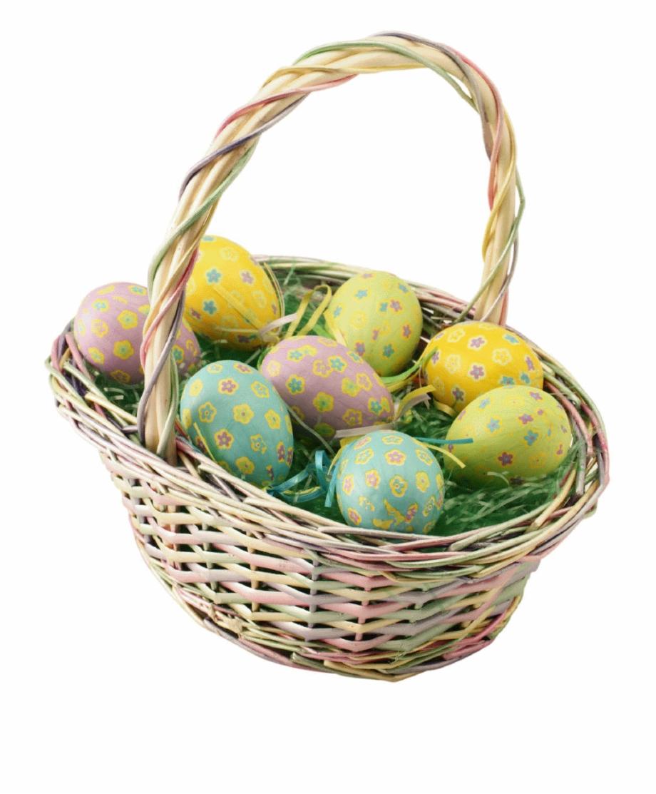 Easter Basket Png Pic.