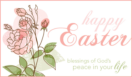 Easter clip art blessing.