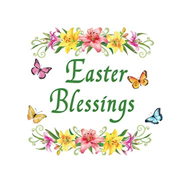 Collections Etc Easter Blessings Magnetic Garage Door Decoration.