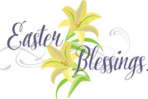 Easter blessings clipart 1 » Clipart Station.