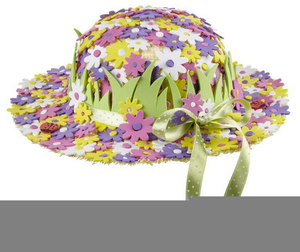 Clipart Easter Bonnets.