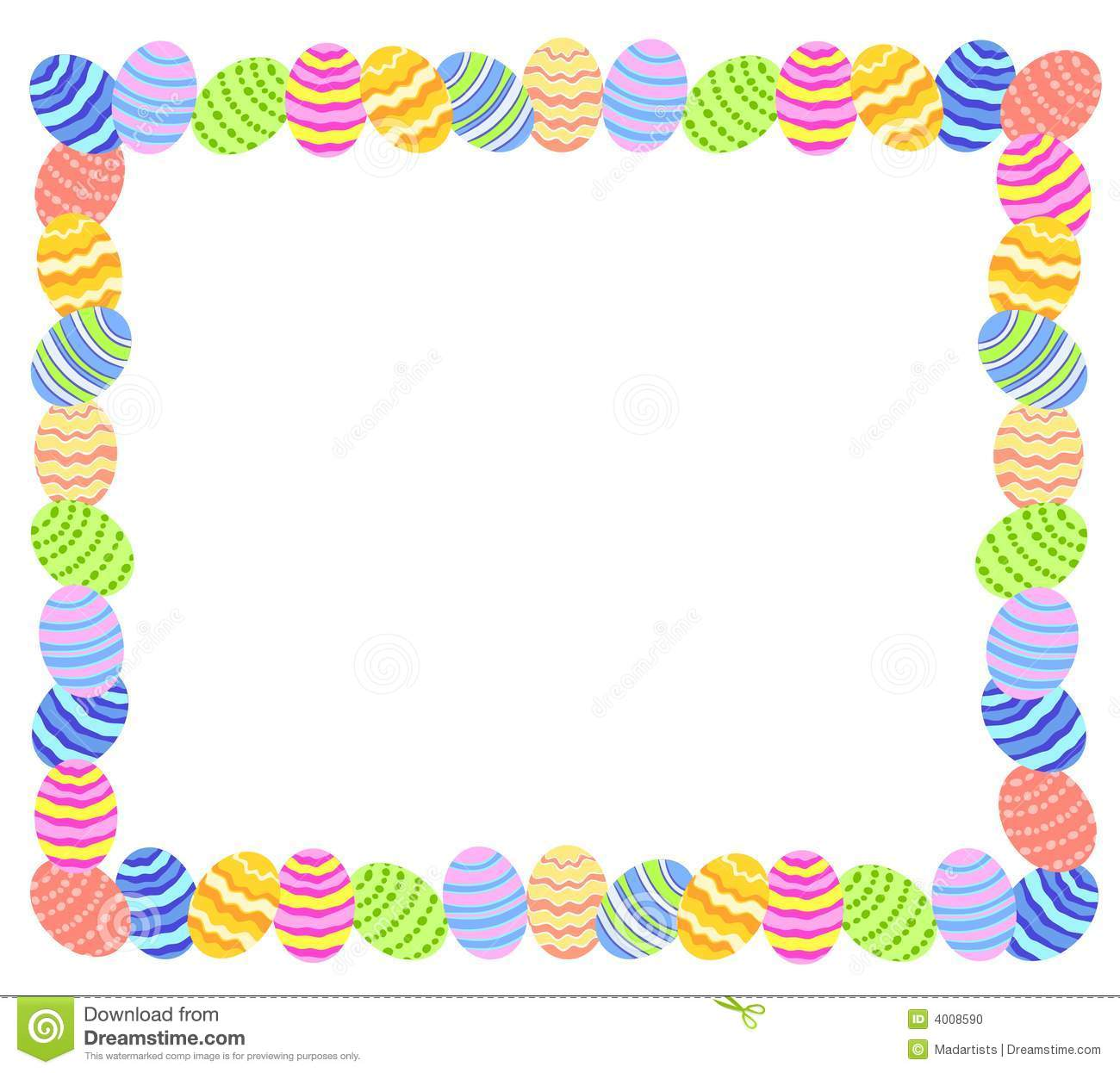 Free easter border clipart 2 » Clipart Station.