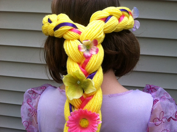 Kids Easter Gift Rapunzel Hair Easter Basket Gift Rapunzel.