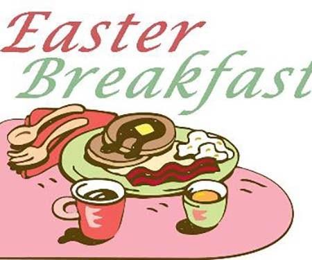Easter Breakfast.