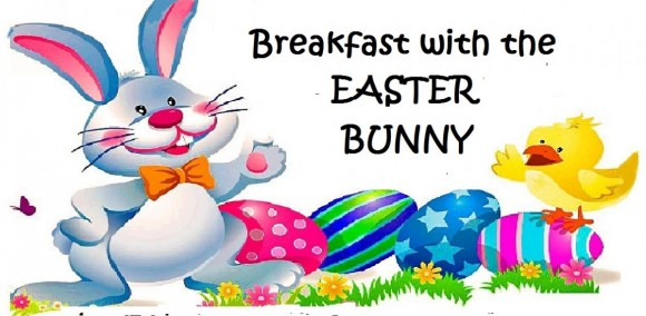 Breakfast with the Easter Bunny.