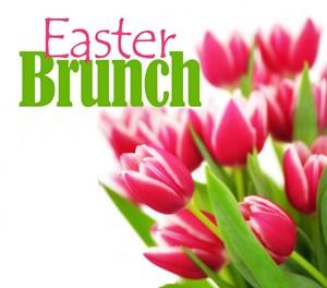 Easter buffet clipart.