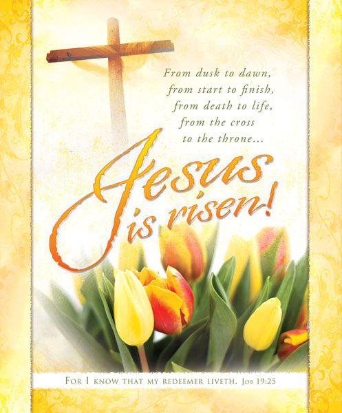 Free Church Bulletin Clip Art/Easter.