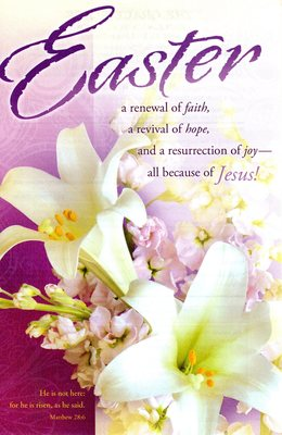 Download easter sunday bulletin cover clipart Christian Clip Art.