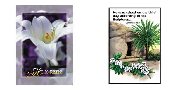 Easter clip art bulletin.