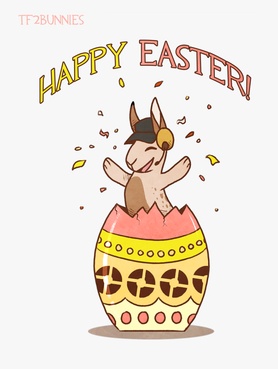 Easter Bulletin Clipart.