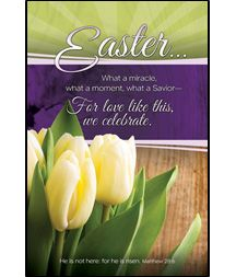 Easter clipart for front of bulletin.