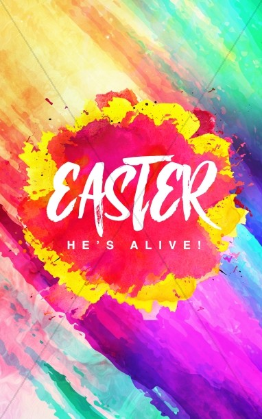 Easter Sunday Resurrection Bulletin Covers.