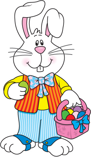 Easter Bunny Clipart.