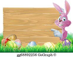 Easter Border Clip Art.