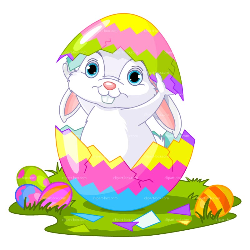Easter Bunny Free Clipart.
