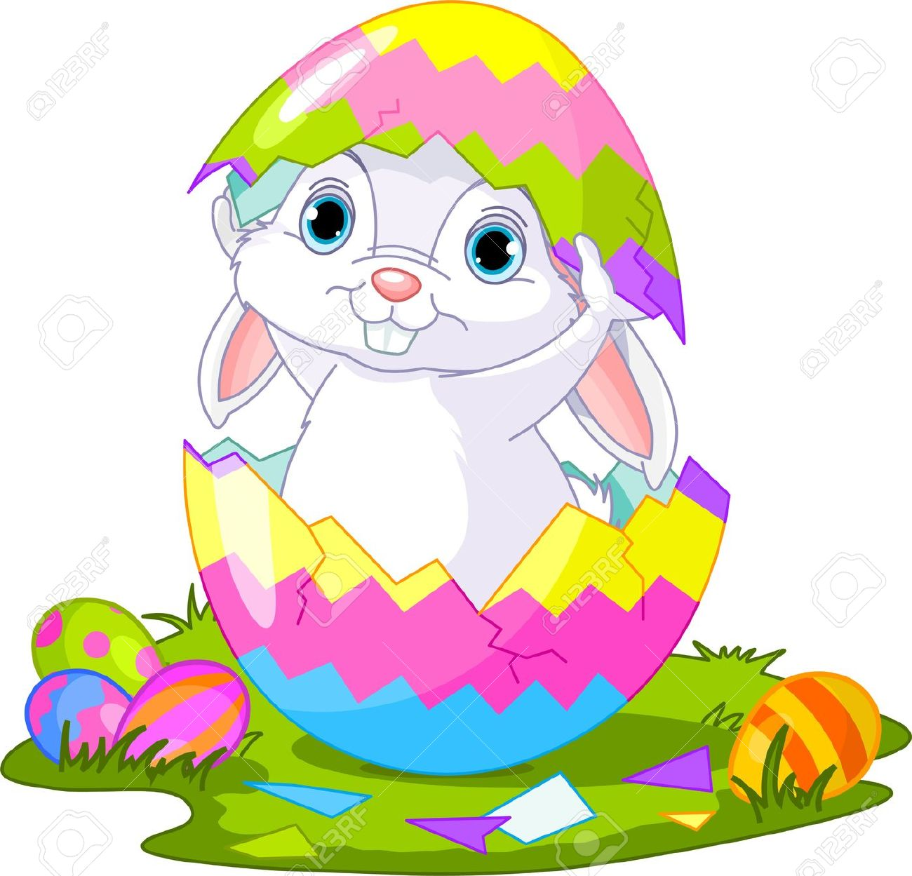 Easter bunny clipart free download 3 » Clipart Station.
