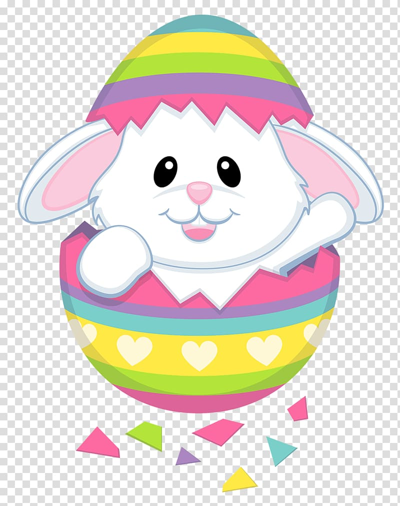White bunny illustration, Easter Bunny , Cute Easter Bunny.
