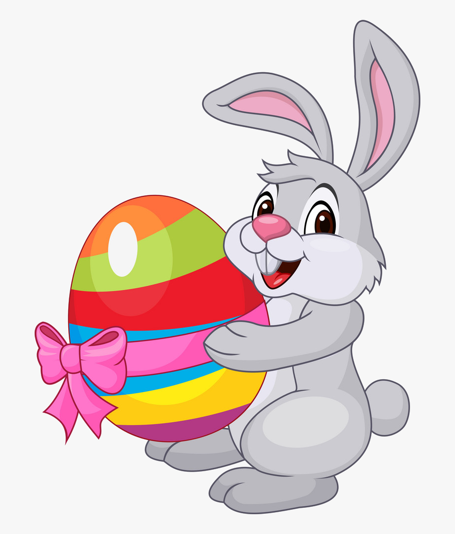 Transparent Easter Bunny Png.