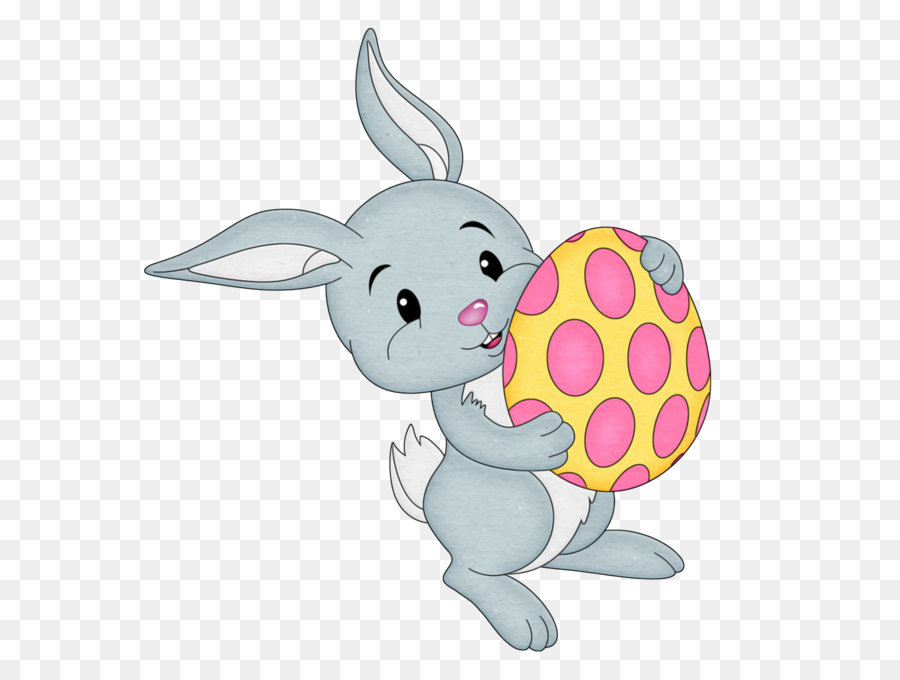 Easter Bunny Background.