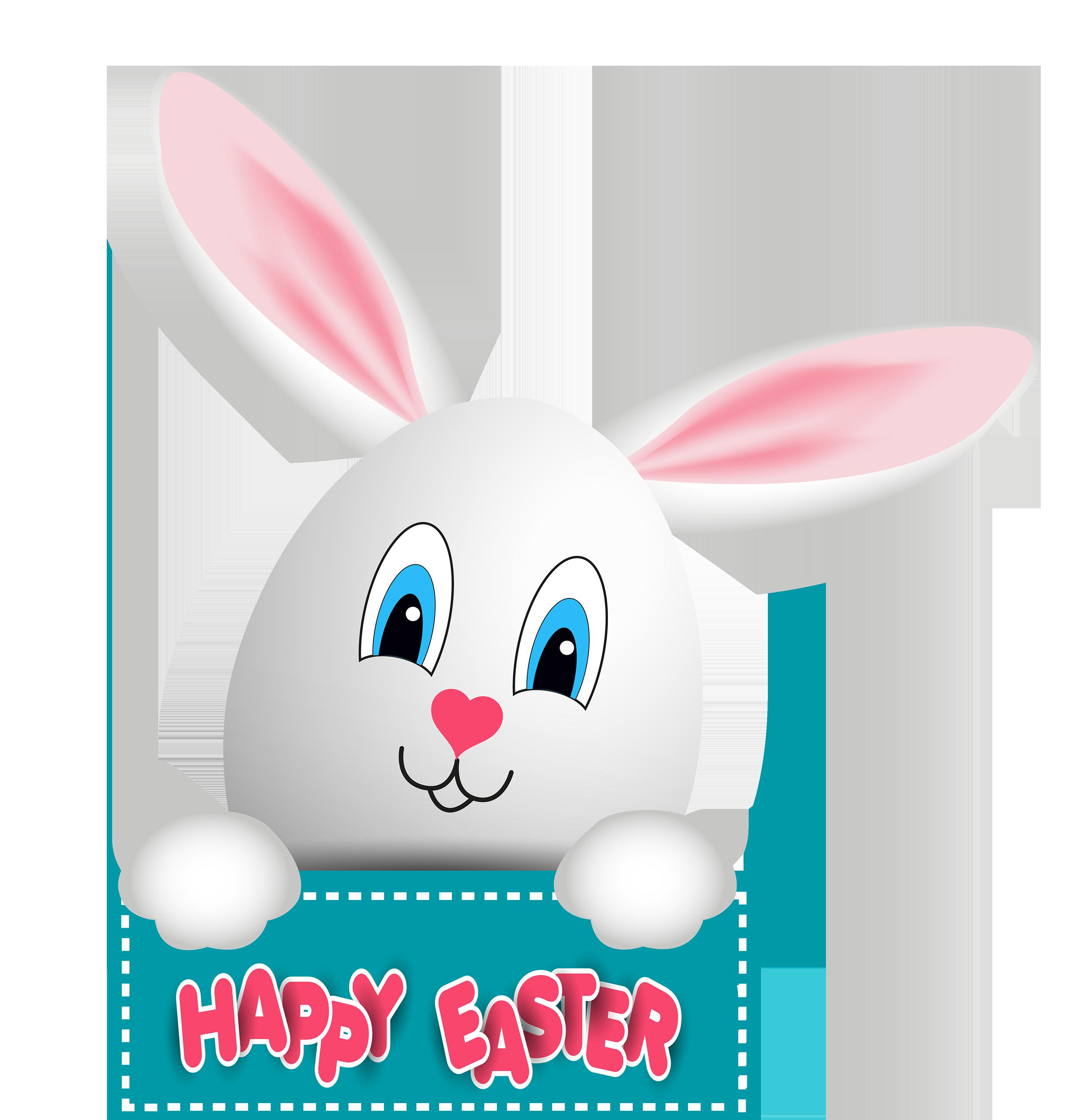 Easter Bunny PNG Clip Art.