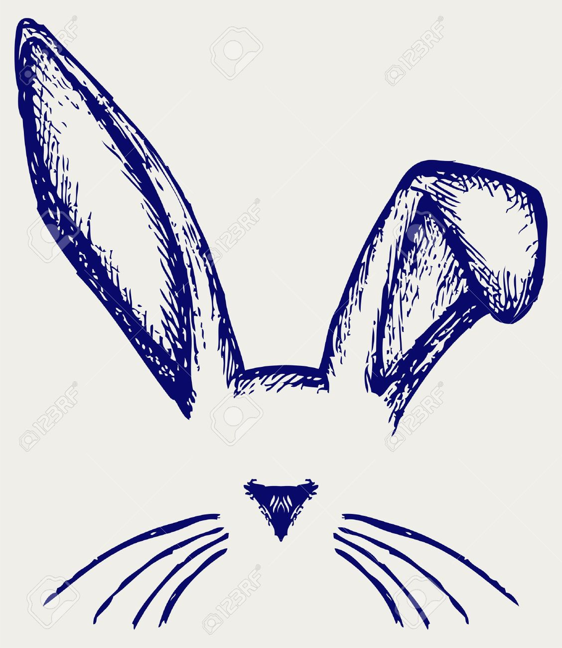 easter bunny ear clipart Clipground