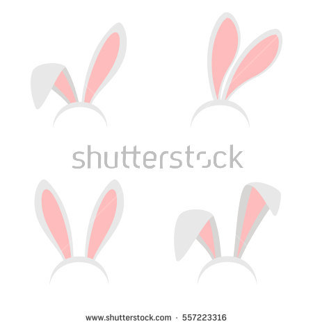 Easter Bunny Stock Images, Royalty.
