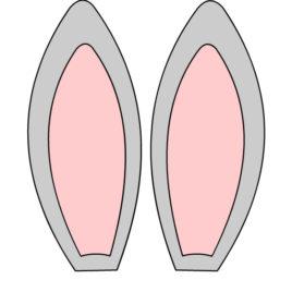 Clipart Bunny Ears.