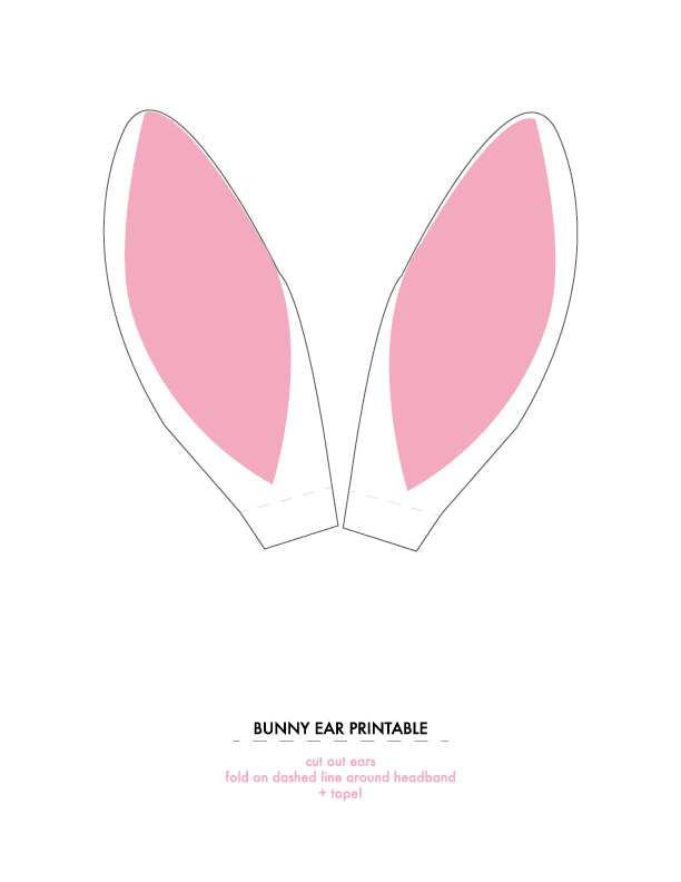 Bunny Ears Clip Art Images