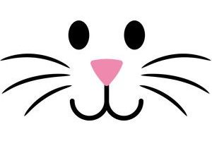 Easter bunny face clipart 2 » Clipart Station.