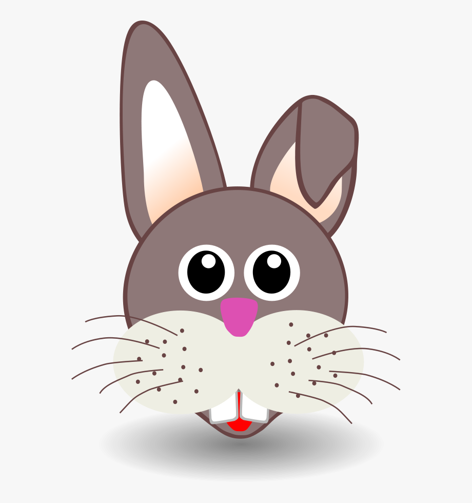 Easter Bunny Face Png.