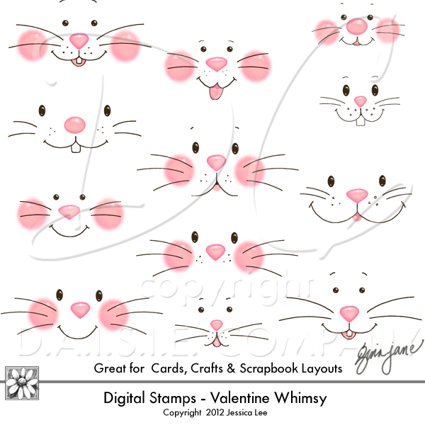 Easter Bunny Face Printable.