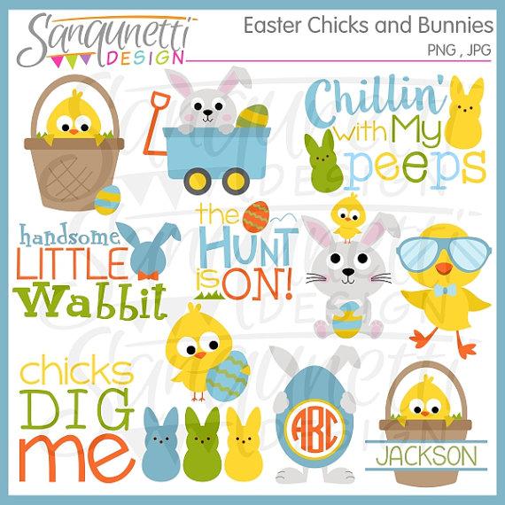 easter clipart easter clip art easter monogram easter bunny.