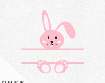 Easter Svg Svg Easter Easter monogram svg Easter Bunny svg.