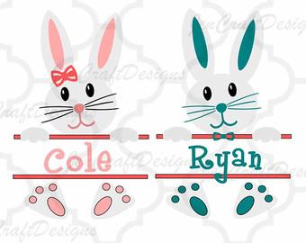 Monogram bunny.