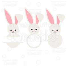 Easter bunny ears silhouette clip art. Download free versions of.