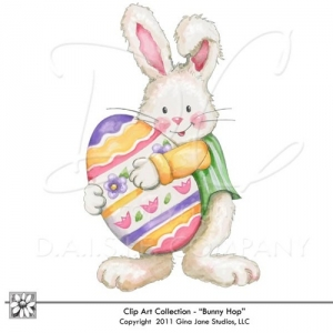 Easter Bunny Graphics.