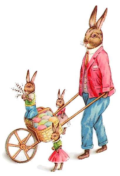 Free Easter Bunny Clipart.