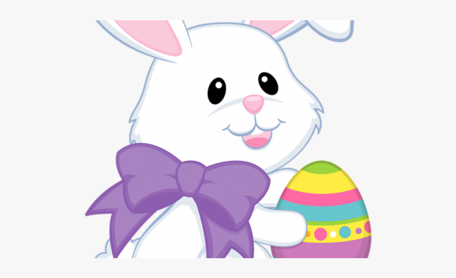 Easter Bunny Clipart Pastel.