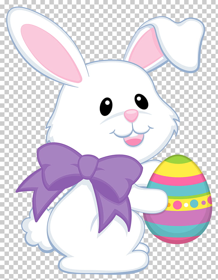 Easter Bunny Easter egg , Easter eggs decorative pattern PNG.