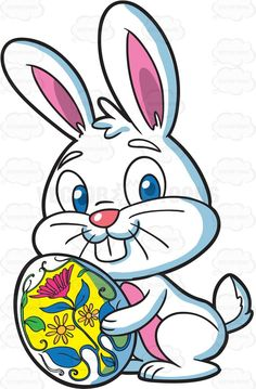 Easter Rabbit Clipart.