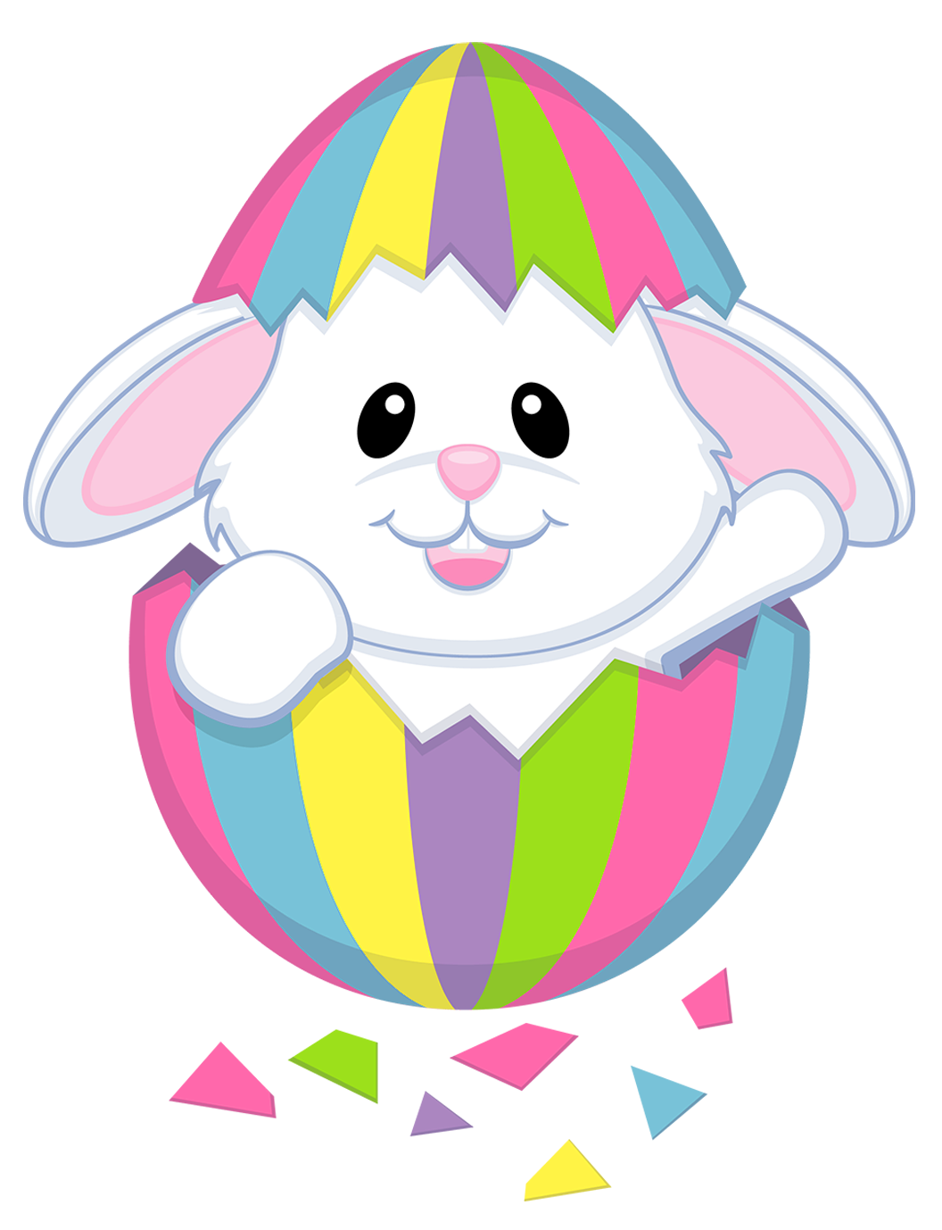 Easter Bunny Rabbit Easter egg Clip art.