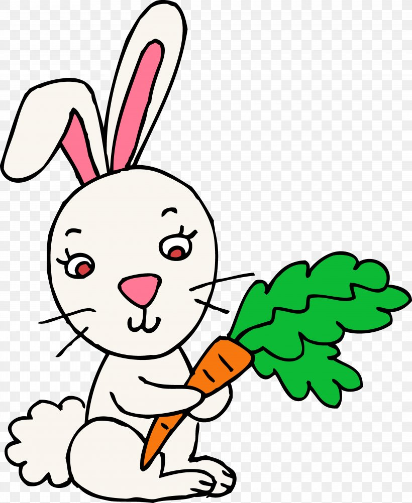 Easter Bunny Rabbit Hare Clip Art, PNG, 5280x6457px, Easter.