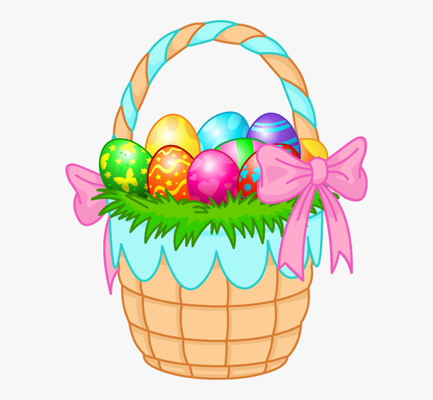 Easter Basket Bunny Transparent.