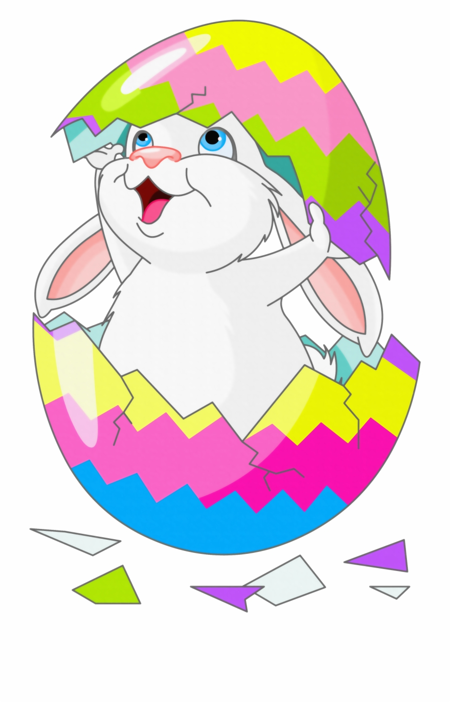With Egg Easter Bunny Picture Free Hq Image Clipart.