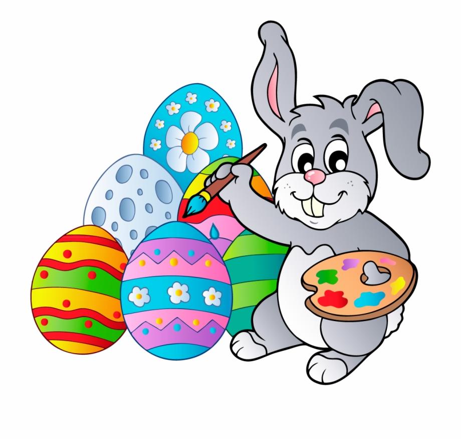 Egg Clipart Easter Bunny.